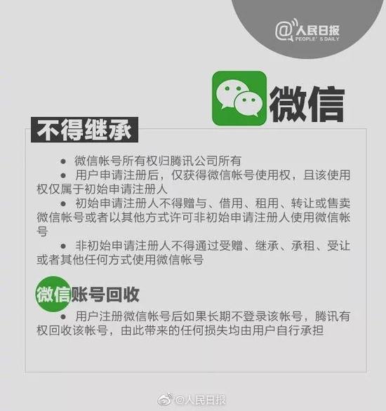 QQ、微信等账号可以继承吗?看完你就知道了!  第3张